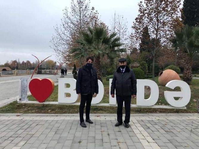 Italian ambassador to Azerbaijan visited Barda