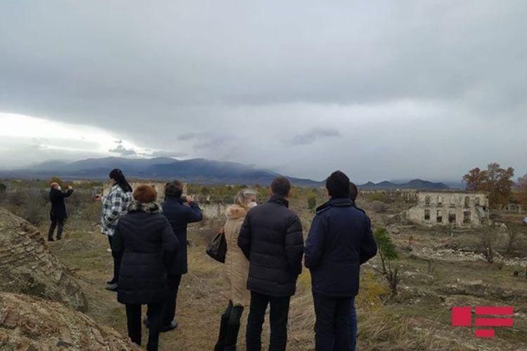 Итальянские депутаты совершили поездку в освобожденный от оккупации город Агдам - ОБНОВЛЕНО - ФОТО - ВИДЕО