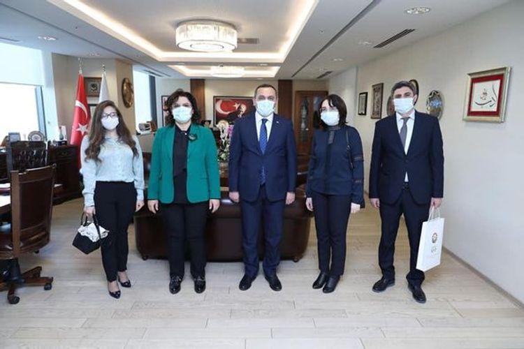Рамин Байрамлы находится с визитом в Турции