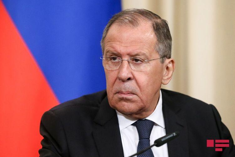 """Lavrov: """"Hərbi əsirlərin mübadiləsinin tezliklə baş tutmasına sülhməramlılarımız vasitəsilə hər cür yardım edəcəyik"""""""