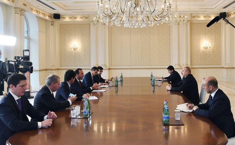 Президент Азербайджана: Решение итальянской делегации посетить Агдам и Гянджу тронуло меня