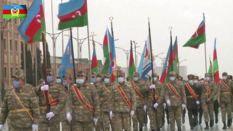 Сегодня в Баку пройдет Парад Победы
