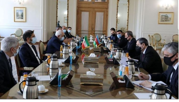 Глава МИД Азербайджана встретился с иранским коллегой - ФОТО