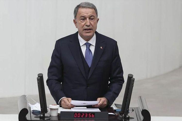 """Hulusi Akar: """"Türkiyə bundan sonra da bütün imkanları ilə azərbaycanlı qardaşlarının yanında olacaq"""""""