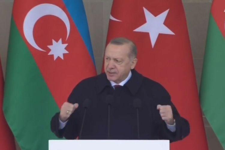 Президент Турции: Хары бюльбюль уже свободен и будет цвести еще ярче