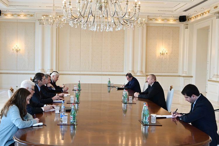 Президент Ильхам Алиев принял сопредседателей Минской группы ОБСЕ от Франции и США - ОБНОВЛЕНО