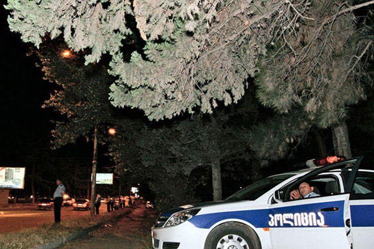 В результате стрельбы в Тбилиси ранен один человек