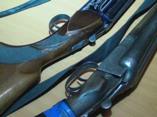 Quba sakinlərindən odlu silahlar götürülüb