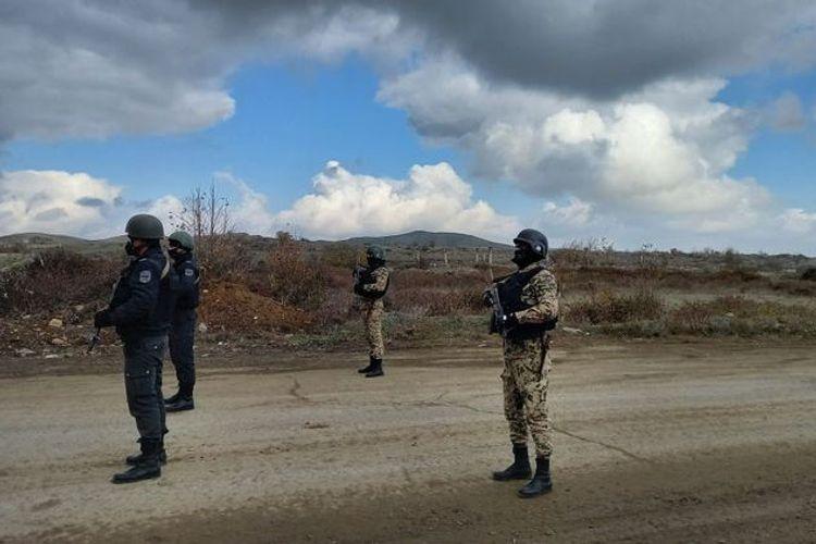 İşğaldan azad edilən Füzuli rayonunda təhlükəsizlik tədbirləri gücləndirilir
