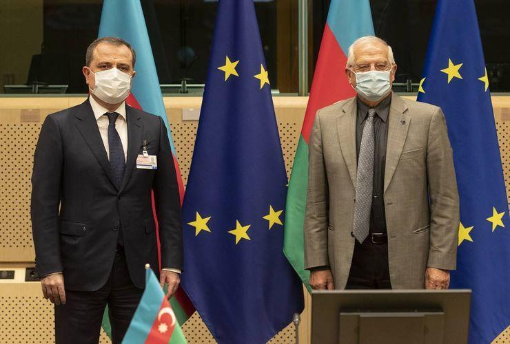 Состоялось заседание Совета сотрудничества Азербайджан - ЕС