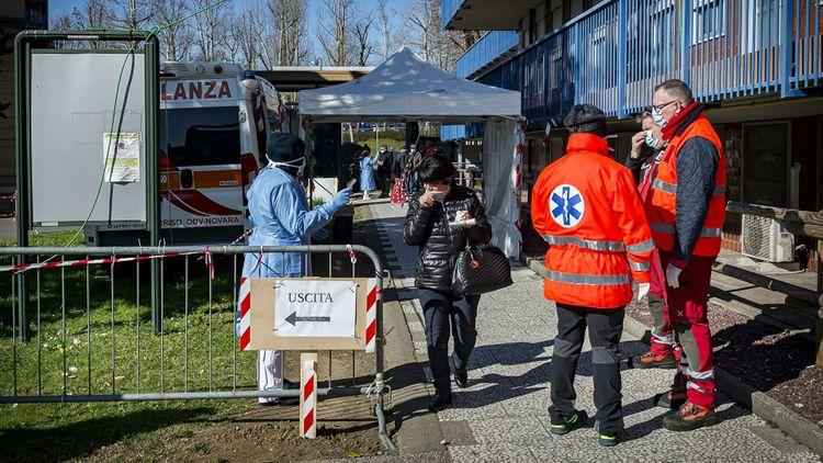 В Италии обнаружили «британский» вариант коронавируса