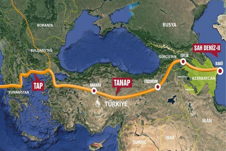 ЕС заинтересован в расширении Южного газового коридора до Западных Балкан
