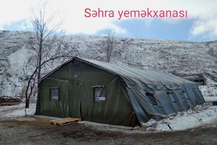 MN: İşğaldan azad edilmiş ərazilərdə yerləşdirilən qoşunların təminatı fasiləsiz həyata keçirilir - VİDEO