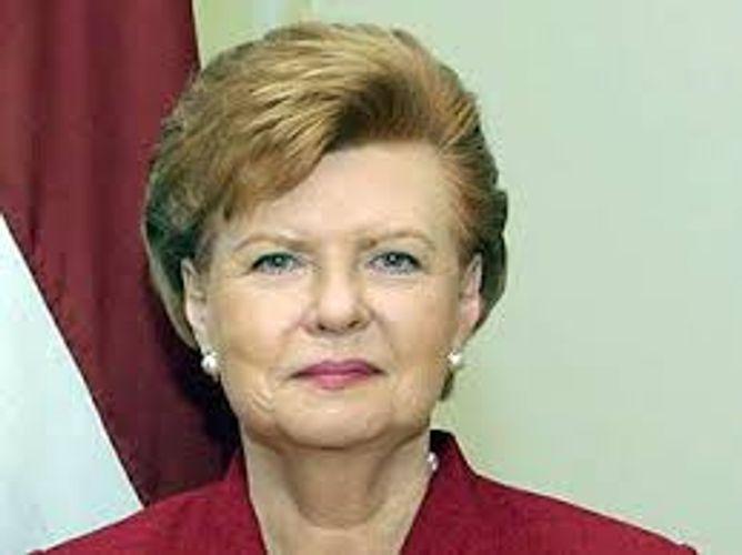 Вайра Вике-Фрейберга поздравила президента Азербайджана