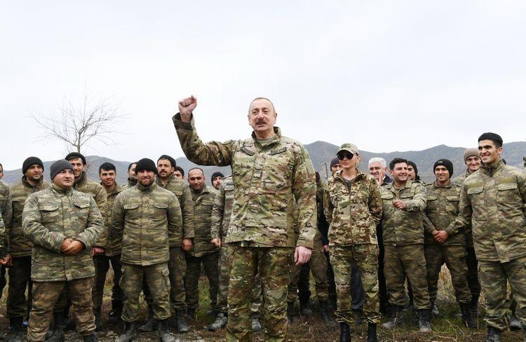 Президент Азербайджана: В ведущих странах мира, в высших военных школах изучают нашу боевую тактику