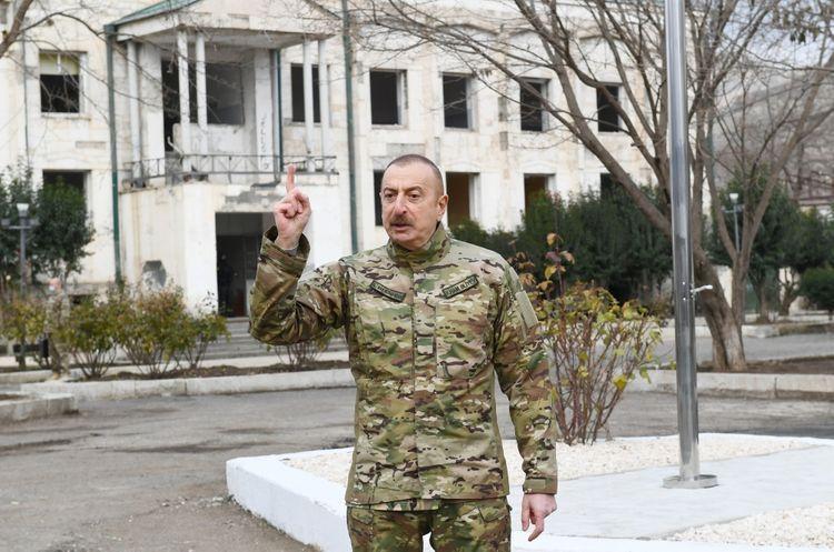 Президент Ильхам Алиев: Хватит уже, мы сами будем жить в наших домах