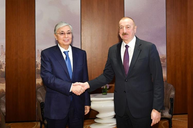 Касым-Жомарт Токаев позвонил президенту Ильхаму Алиеву