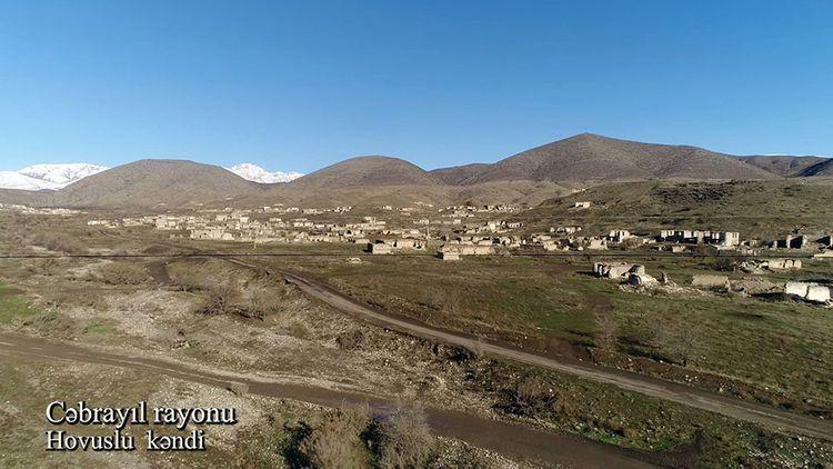 Село Ховуслу Джабраильского района - ВИДЕО