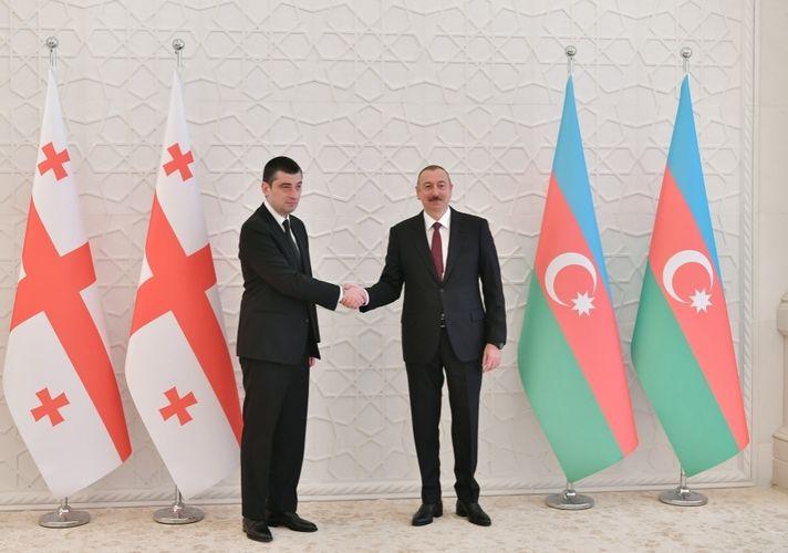 Gürcüstanın Baş naziri Azərbaycan Prezidentinə zəng edib