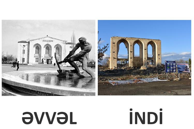 Разрушенное кладбище Абдал-Гюлаблы: Следы от пуль на могиле 9-летней девочки – РЕПОРТАЖ – ФОТО