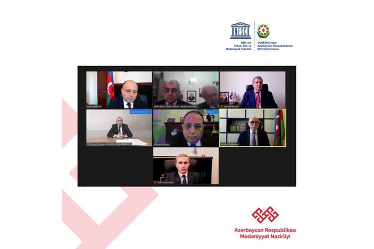 Əbdürrəhim bəy Haqverdiyevin 150 illiyinə həsr olunan videokonfrans keçirilib