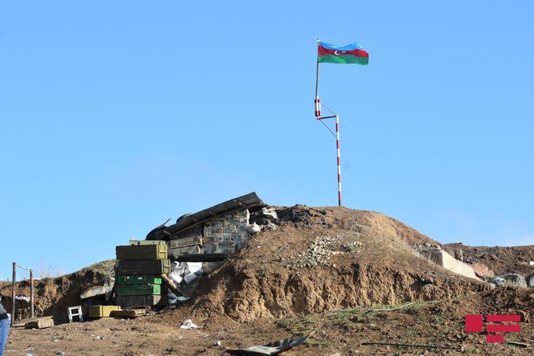Füzulidəki erməni komanda mərkəzi, 2 km uzunluğunda minalı ərazi, Füzulinin heykəlinin tapılmağı - REPORTAJ - FOTOLAR