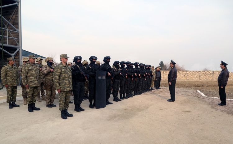 Azerbaijan Defense Minister attends the opening of modern Diver Training Facility of Naval Forces - <span class=