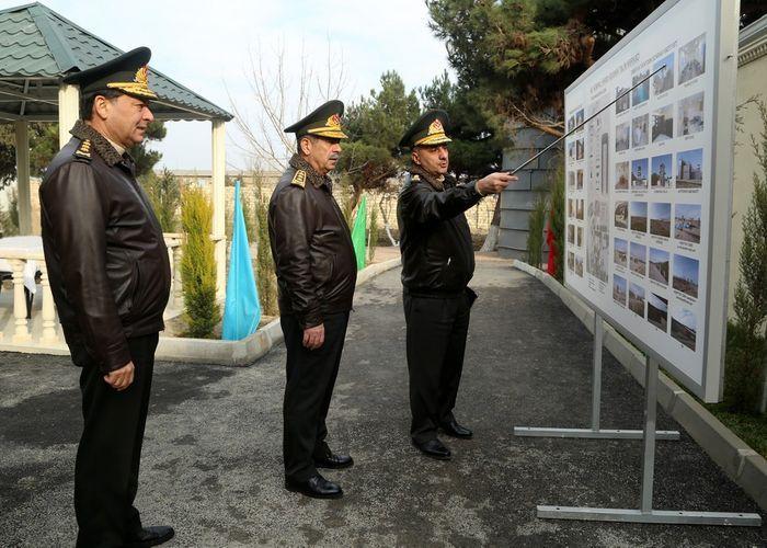 Министр обороны Азербайджана принял участие в открытии современного Учебного водолазного полигона ВМС – ВИДЕО