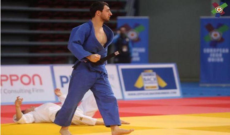 Азербайджанский дзюдоист проиграл в финале Кубка Европы