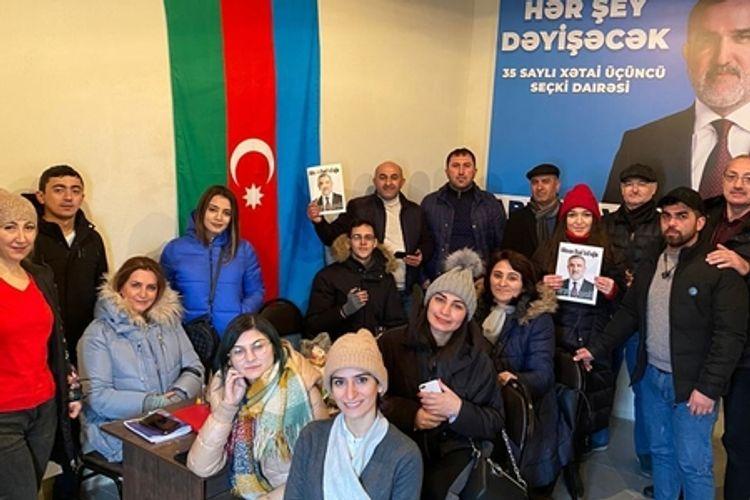 """®Rauf Arifoğlunun seçki qərargahı """"10 min mənzil"""" proqramını bitirdi"""