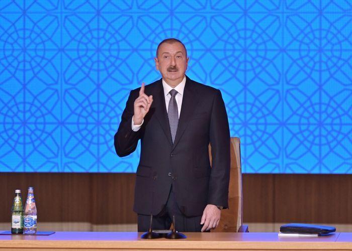"""Azərbaycan Prezidenti: """"Sözümüzün qüvvəti imzamız qədər olmalıdır və bu gün bu, belədir"""""""
