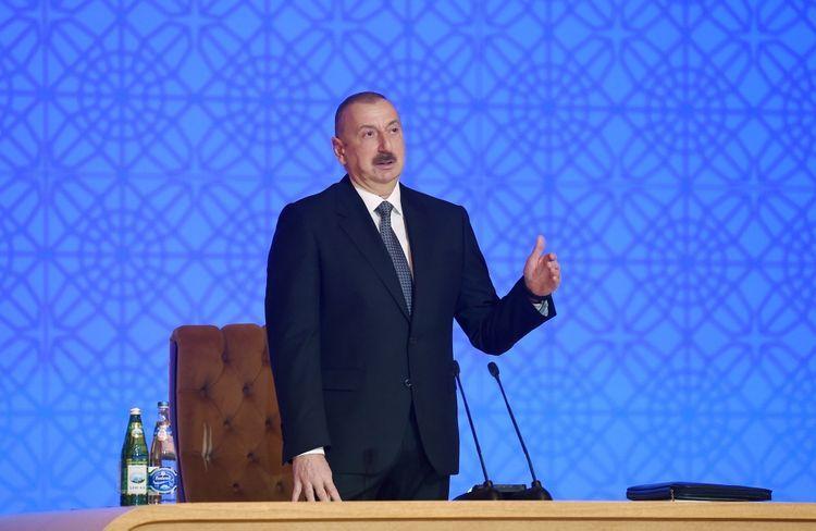 """Prezident İlham Əliyev: """"Əgər o banklarda hansısa problemlər olarsa, bu lisenziya ləğv ediləcəkdir"""""""