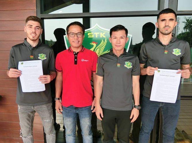 Азербайджанские футболисты подписали контракт с таиландским клубом