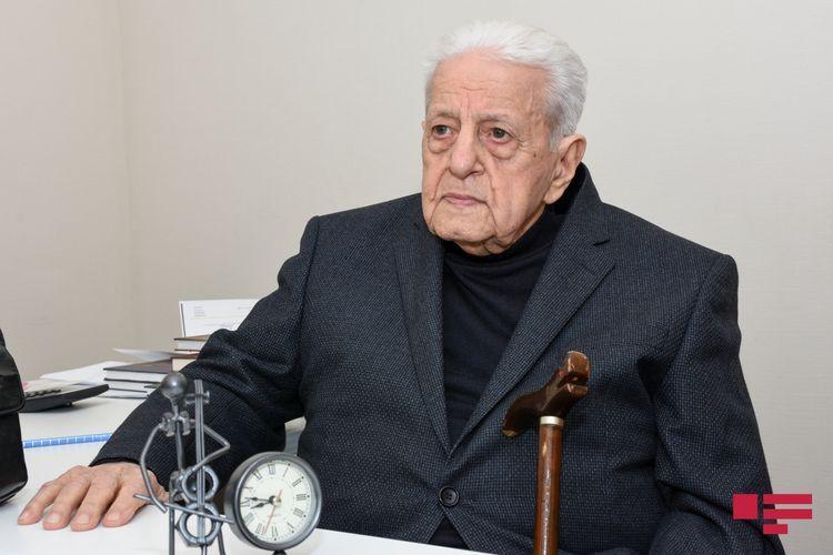 Алибаба Мамедов награжден орденом «Шараф»