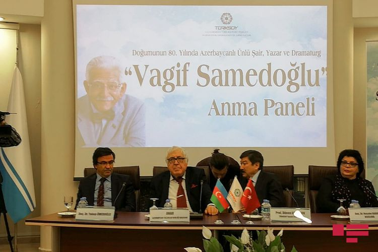 Ankarada Vaqif Səmədoğlu anılıb