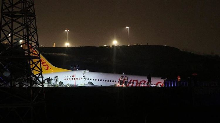 There was one Azerbaijani citizen on board of the plane skidded off runway at airport in Istanbul