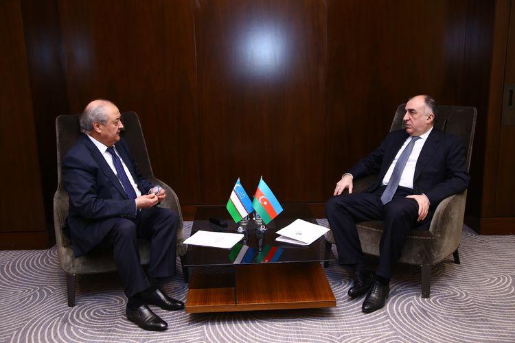 Azerbaijani  FM meets with Uzbek counterpart