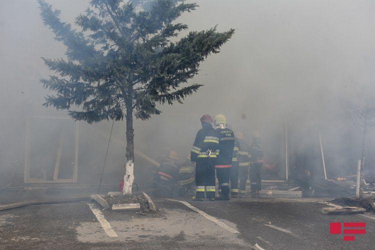 Пожар в Губе потушен - <span class=