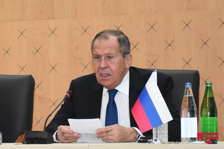Sergey Lavrov Venesuelaya səfər edib