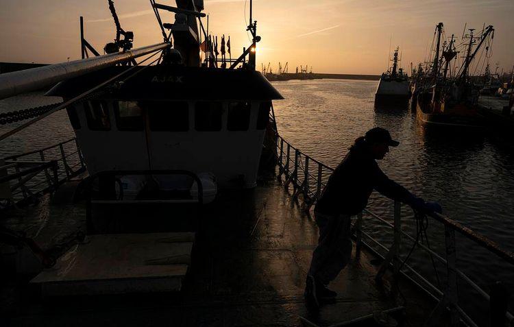Российский траулер затонул у берегов Эстонии