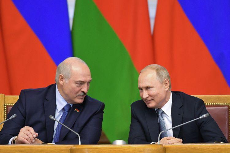 Putin, Lukashenko hold second round of talks