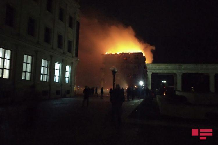 Пожар в жилом доме в Нефтчале потушен  – <span class=
