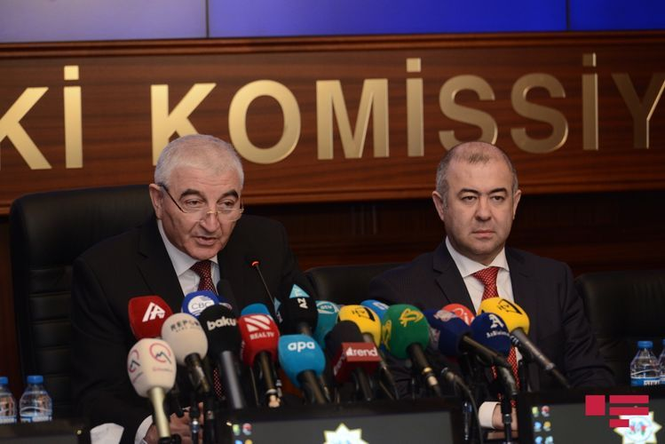 """Chairman of CEC: """"Today is a historical day in Azerbaijan"""""""