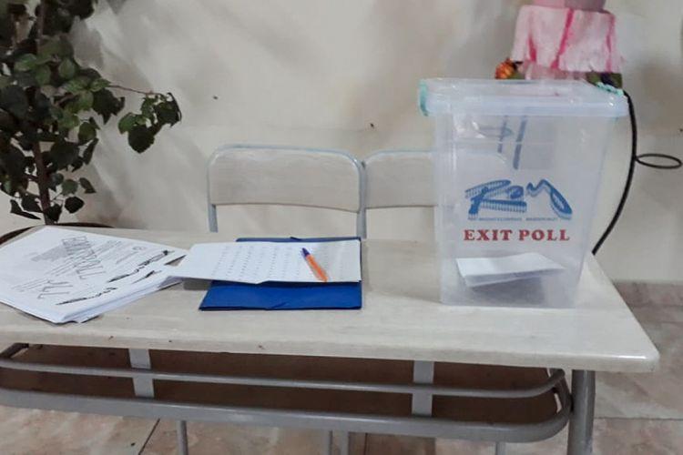 """Zaqatala seçki dairəsinin məntəqələrində """"exit-poll"""" keçirilir"""