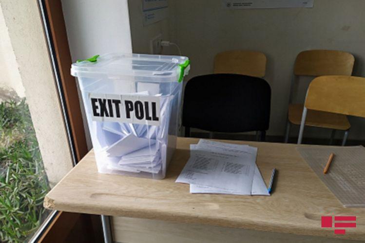 """""""AJF&Associates, İnc"""" təşkilatı 15 saylı Yasamal I Seçki Dairəsinin 2 saylı məntəqəsində """"exit-poll"""" keçirir"""