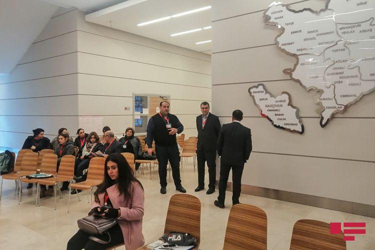 23 saylı Nəsimi-Səbail seçki dairəsinin 13 saylı seçki məntəqəsində prosesi 50-dən çox müşahidəçi izləyir