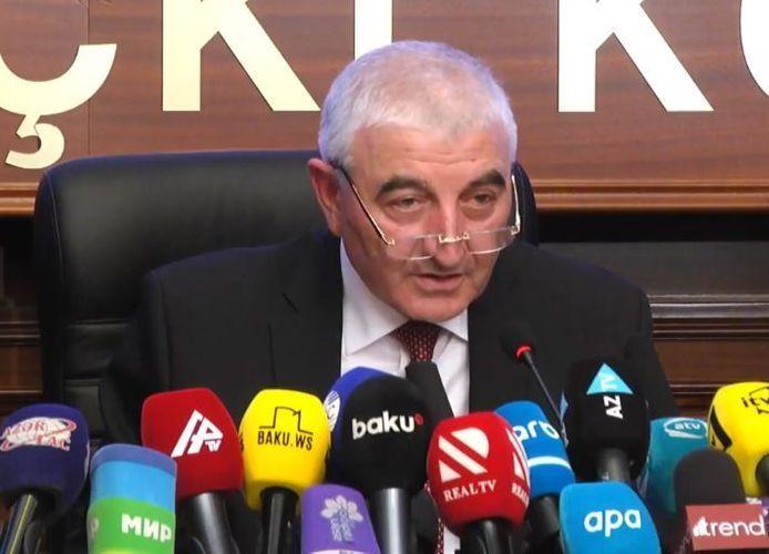 Председатель ЦИК Азербайджана поблагодарил иностранные СМИ