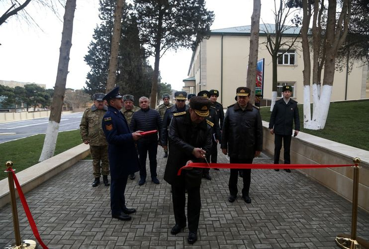 New facilities commissioned in the military unit of the Air Force