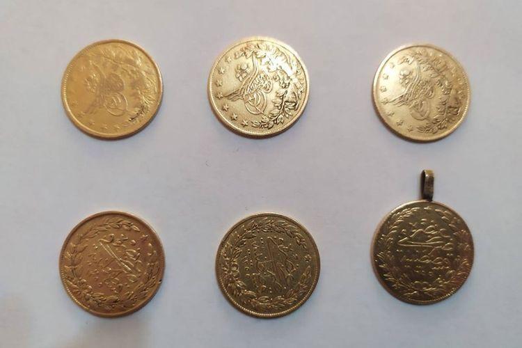 В Шеки задержан мужчина, укравший из дома золотые монеты на сумму 18700 манатов