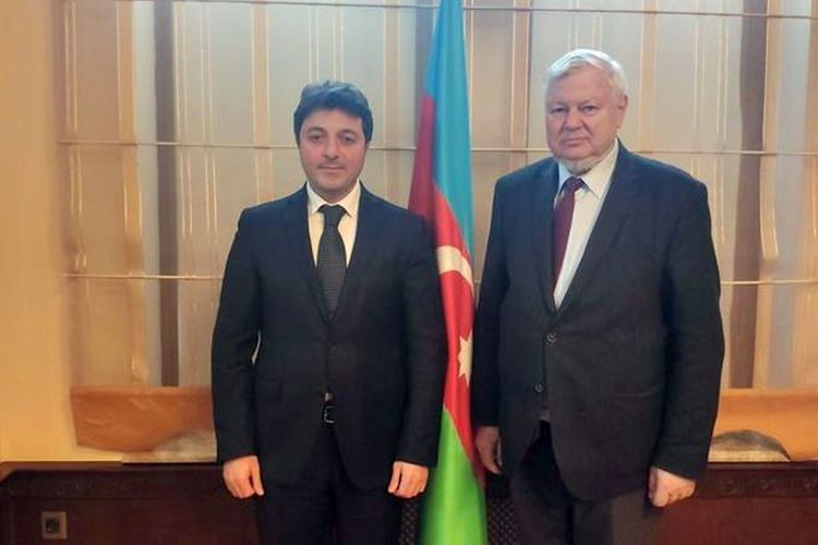 Tural Ganjaliyev brought to the notice of Andrzej Kasprzyk that Azerbaijani Community is ready for contacts with Armenian Community